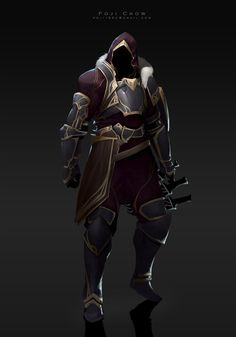 ArtStation - knight-Hunter, Poji Chow