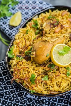 Chicken Pulav / Indian Style Rice with Chicken - Whisk Affair
