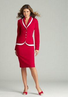 Modelos de ternos femininos com saia