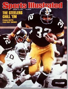 One of the greatest running backs in NFL history, Steeler Hall of Famer Franco Harris