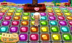 Rainbow Jelly Blocks Path Animal Crossing New Leaf Qr Code