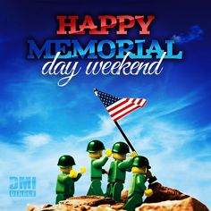 """A hero is someone who has given his or her life to something bigger than oneself"" - Joseph Campbell #Lego #MemorialDay #Marinespicture #MiniMarines #workhard #playhard #DMI #longweekend #enjoy #ThanksGodItsFriday #TGIF"