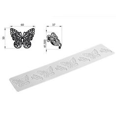 Silikomart Wonder Cakes Silicone Mat -Butterfly-
