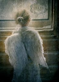 angel at the window