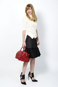 The Updated Pencil Skirt  #StyleSpotlight