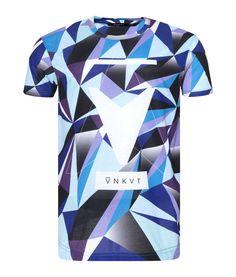 T-Shirt Unkut Tetra Bleu - Unkut Shop Officiel