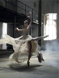 pirouette in attitude...