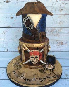 Jack Sparrow Pirate Cake!