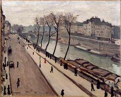 Albert Marquet - La Seine vue du quai des Grands-Augustins, 1906