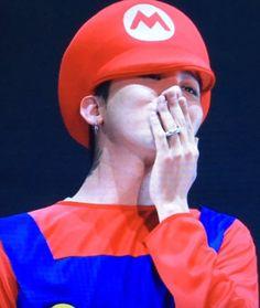 G Dragon as Mario