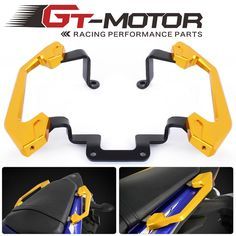 57.00$  Buy here - http://alioys.shopchina.info/go.php?t=32803273508 - GT Motor-free shipping Pillion Passenger Grab Rail Handle of  Rear Grab Bars Rear Seat  For Yamaha YZF R3 2013 2014 15 2016  #buyininternet