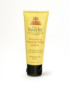The Naked Bee Moisturizing Orange Blossom Honey Hand & Body Lotion 2.25 oz