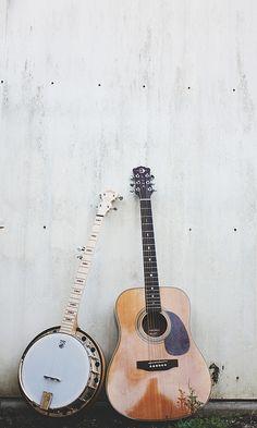 banjo + guitar