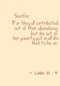 Luke 21:4