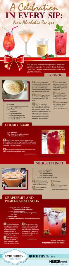 """Awesome """"mocktails"""" for New Year's Eve"""