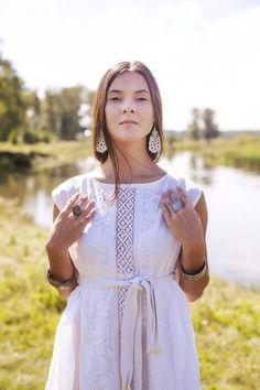 Товары ЭТНО ФРЭШ (ETNO FRESH) Дизайнер Марина Вилисова. – 31 товар White Dress, Textiles, Simple, Life, Clothes, Dresses, Fashion, Vestidos, Moda