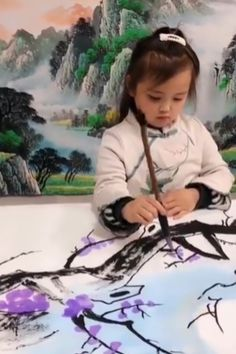 4 years old little artist. 4 years old little artist. Art Sketches, Art Drawings, Art Asiatique, Art And Illustration, 4 Year Olds, Art Techniques, Diy Art, Amazing Art, Awesome