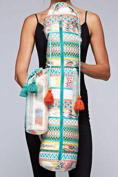 Juniper Yoga Mat Bag #yogamatbags  #yogamatbags