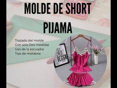 COMO HACER MOLDE DE SHORT PIJAMA - YouTube Youtube, Tumblr, Shorts, Pattern, Babydoll Sheep, Underwear, Patterns, Model, Tumbler