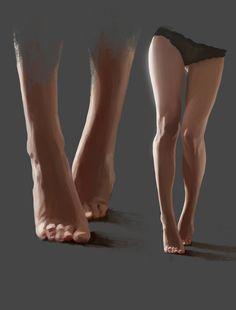 Legs Study , Denis G...@Arran采集到【基础】 人体 动态(475图)_花瓣游戏