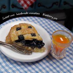 #블루베리파이 #미니어쳐블루베리파이  #미니어쳐 #미니어쳐음식 #미니어쳐푸드 #클레이음식 #미니어쳐만들기 #돌하우스 #miniature #miniaturefood  #clayfood #fakefood #dollhouse #blueberry #pie