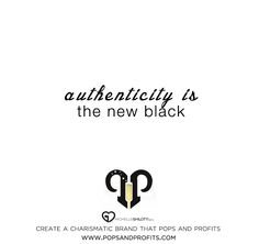 We must create ~ grow ~ the new generation of authentic women entrepreneurs...those that sell authentically, create authentically, speak authentically and LIVE authentic lives and businesses.    how to be authentic in entrepreneurship: Do more of what makes you happy...and let it seep into your business.    www.popsandprofits.com