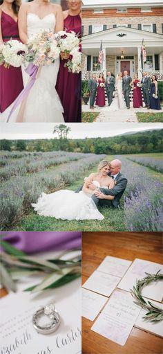 Springfield Manor Winery and Distillery wedding | vineyard bride and groom | winery wedding | Amanda Adams Photography | lavender fields