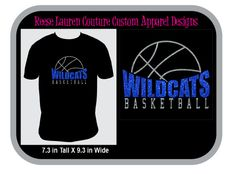 Customize Your TEAM BASKETBALL T-shirts, Backpacks, and Decals by ReeseLaurenCouture on Etsy