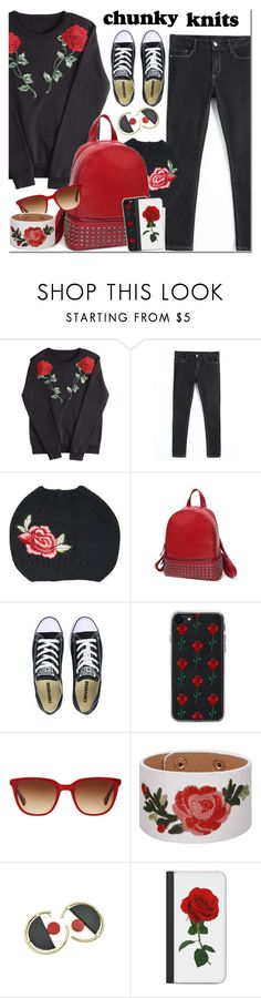 """""""Untitled #3326"""" by mada-malureanu ❤ liked on Polyvore featuring Converse, Zero Gravity, RALPH and Casetify"""