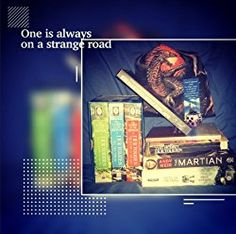 One is always on a strange road...