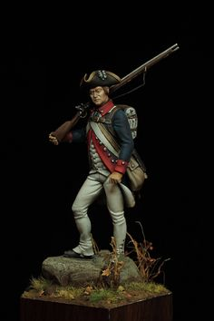 Private Delaware Regiment - 1780
