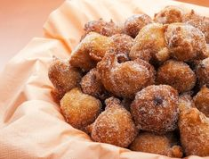 This recipe is for yummy and sweet Croatian donuts. Croatian Donuts Recipe from Grandmothers Kitchen. looks yummy - except the brandy. Croatian Recipes, Portuguese Recipes, Malasadas Recipe Portuguese, Portuguese Food, Delicious Desserts, Dessert Recipes, Yummy Food, Donut Recipes, Cooking Recipes