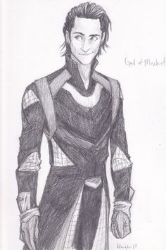 Okie Dokie Loki by ~burdge-bug on deviantART. As an apology for all the feels, nothing but nice Loki pins today, I promise!