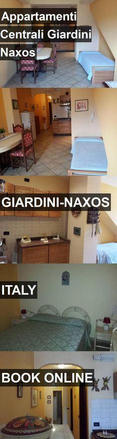 Hotel Appartamenti Centrali Giardini Naxos in Giardini-Naxos, Italy. For more information, photos, reviews and best prices please follow the link. #Italy #Giardini-Naxos #travel #vacation #hotel