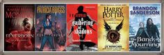 Goodreads 2016 Best Books Collection Fantasy