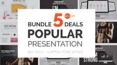 Stock Powerpoint Templates - Free Download Every Weeks | Popular Presentation Bundle Deals