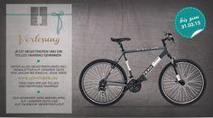 GEWINNSPIEL macht mit und gewinnt das Abgebildete Fahrrad! - Teilnahmebedingungen finden Sie auf dem Bild