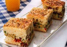 Receita de torta de legumes de liquidificador!!!  :)