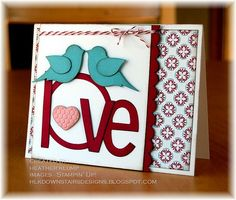 cute card! For Valentine's day or any day for the one you love!