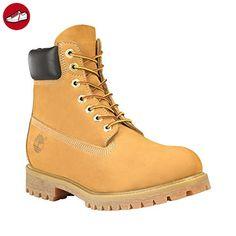 Timberland Männer 6 - Inch Premium Wasserdicht Stiefel High Top Boot In Tan Brown Wheat - Timberland schuhe (*Partner-Link)