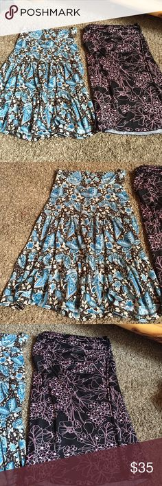 Womens skirts Way cute Womens skirts! Both in excellent condition! Can sell separate, just ask! (: $20 each or $35 for both! 😊 Skirts Midi