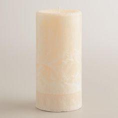 "3"" x 6"" Vanilla Bean Pillar Candle"