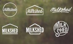 Milkshed Visual Identity - Feb 2013 on Behance