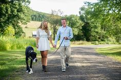 engagement session with a great dane.  Carden's Photography
