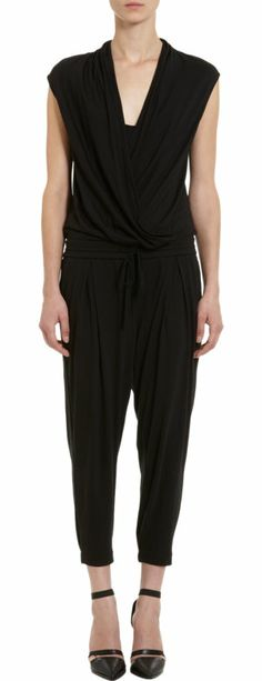 Helmut Lang Featherweight Romper at Barneys.com