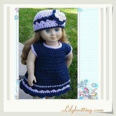 Crochet Patterns: Barbie Doll Clothing - Free Crochet Patterns