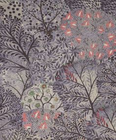 Love the colours in this > Liberty Art Fabrics Ray Linen Union in Midnight