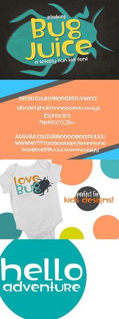 Bug Juice, Kid Fonts, Cool Fonts, Cool Kids, Fun, Design, Design Comics, Fonts Kids, Lol