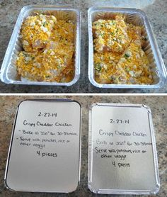 You can be that mom who's stockpiled meals in her freezer. It's easier than you think. Prepping freezer meals starts with buying enough ingredients. meals 20 Make-Ahead Freezer Dinners for Busy Moms Make Ahead Freezer Meals, Freezer Cooking, Quick Meals, Cooking Recipes, Freezer Recipes, Freezer Dinner, Cooking Tips, Meal Prep Freezer, Meals That Freeze Well