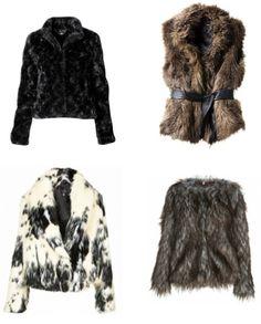 faux fur jackets  www.furfrenzy.com #fauxfur #fashion #fashionfriday #fakefur